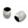 Metal Bead 6X5.5x4mm Riceshape Antique Silver